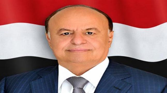 الرئيس اليمني يلتقي بأعضاء وفد المجلس الانتقالي المشارك في اتفاق الرياض