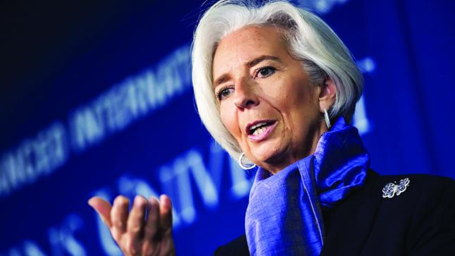 لاغارد: انتعاش منطقة اليورو مستمر .. لكنه هش